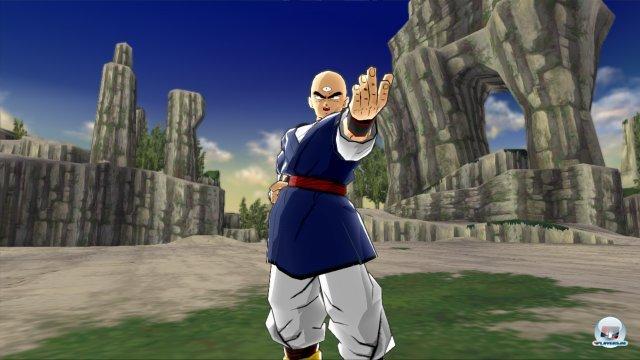 Screenshot - DragonBall Z Budokai HD Collection (PlayStation3) 2375387