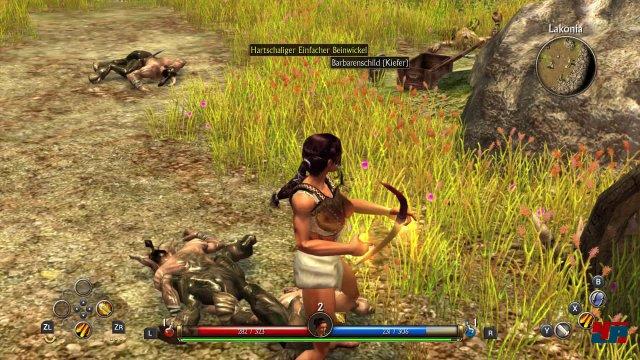 In der Switch-Version von Titan Quest ist das prinipielle Alter des Spiels nur ein kleines Problem. Schwerwiegender sind die technischen Unzulänglichkeiten.