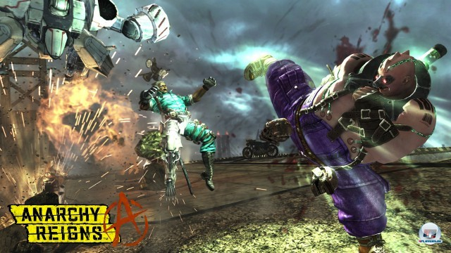 Screenshot - Anarchy Reigns (PlayStation3) 2246297