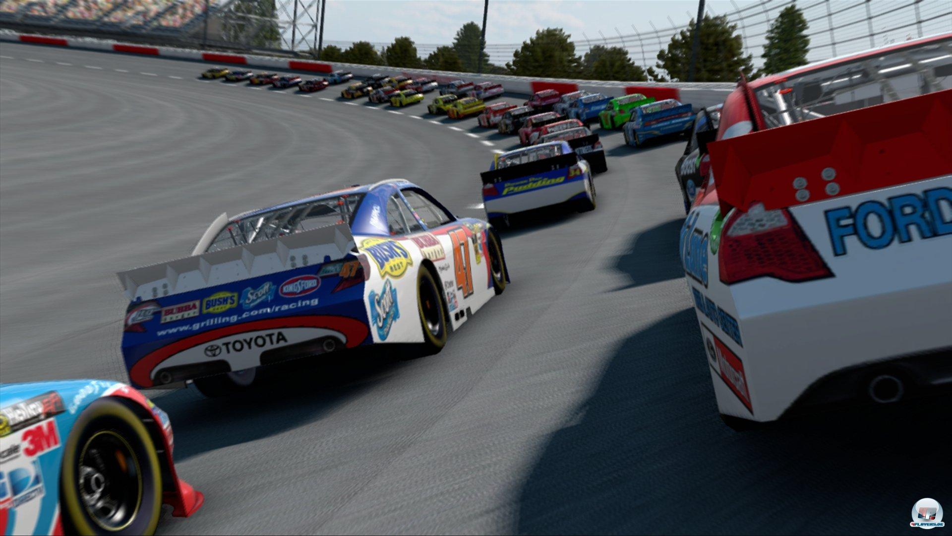 screenshots zu nascar the game inside line alles zum rennspiel rh 4players de