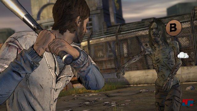 Spielerisch ist The Walking Dead nach wie vor kaum der Rede wert.