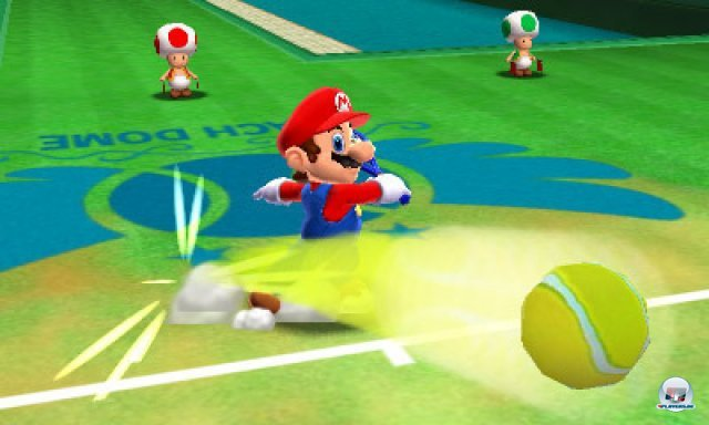 Screenshot - Mario Tennis 3D (3DS) 2287527