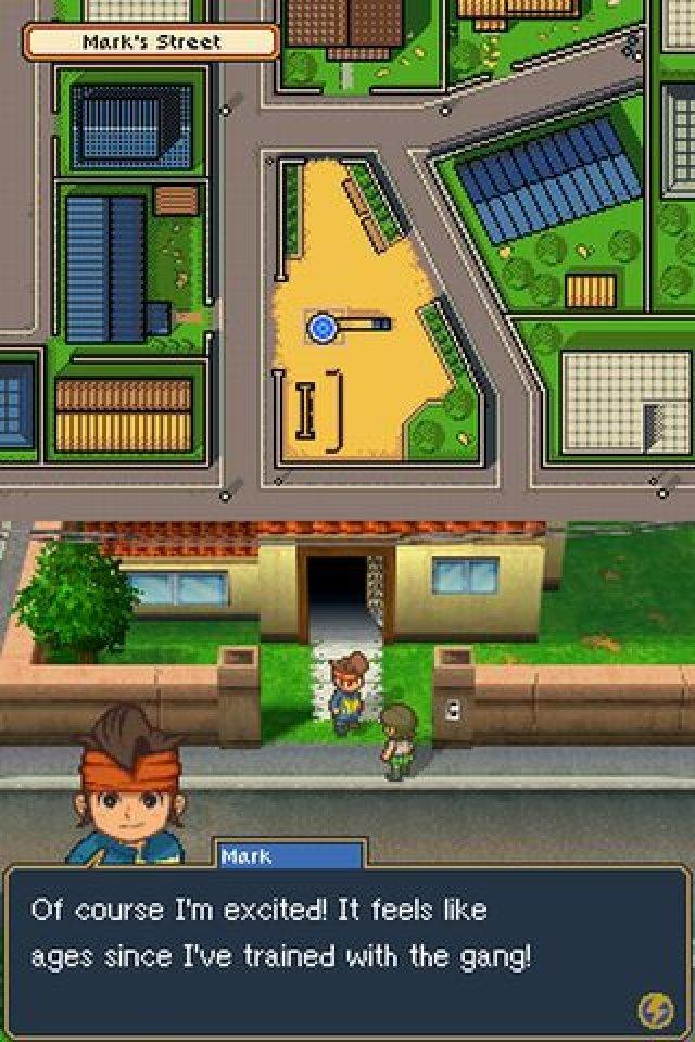 Screenshot - Inazuma Eleven 2: Feuersturm (NDS)