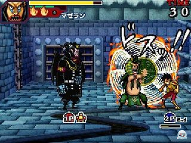 Screenshot - One Piece: Gigant Battle (NDS) 2237534