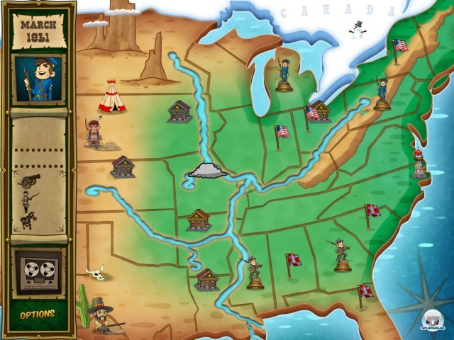 Screenshot - North & South (iPad)