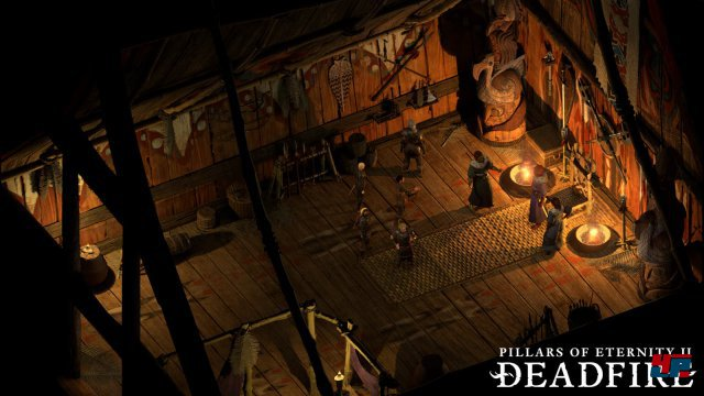 Screenshot - Pillars of Eternity 2: Deadfire (Linux)