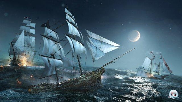 Keine Piraten ohne Seeschlachten und Kaperfahrten.
