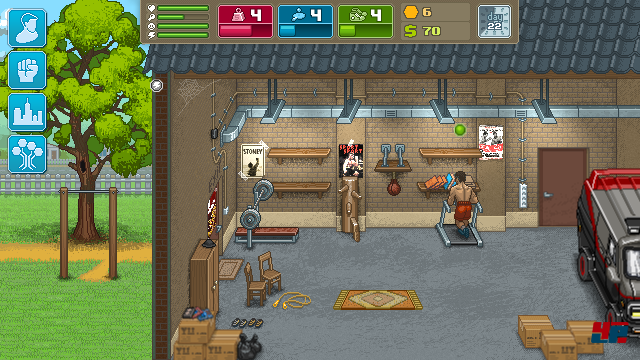 Screenshot - Punch Club (Android)