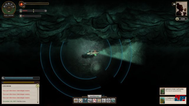 Screenshot - Sunless Sea (Linux)