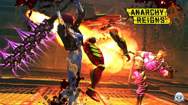 Screenshot - Anarchy Reigns (PlayStation3) 2246302