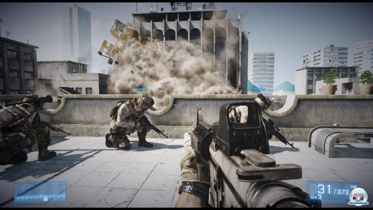 Battlefield wie man es kennt und liebt? Leider nicht: Die Kampagne orientiert sich stark an Call of Duty, ist aber in so ziemlich jedem Bereich unterlegen.