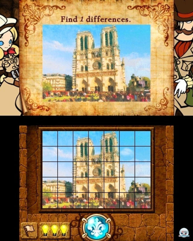Screenshot - Doctor Lautrec and the Forgotten Knights (NDS) 2216928