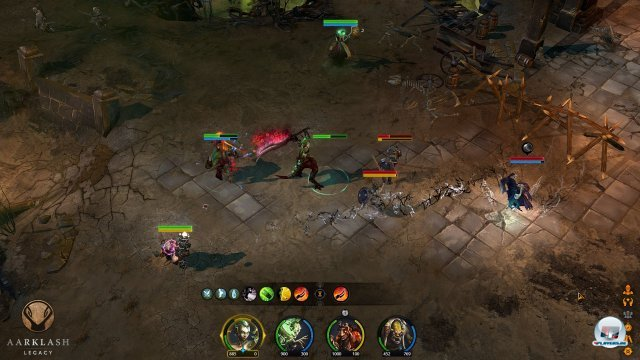 Screenshot - Aarklash: Legacy (PC) 92464042
