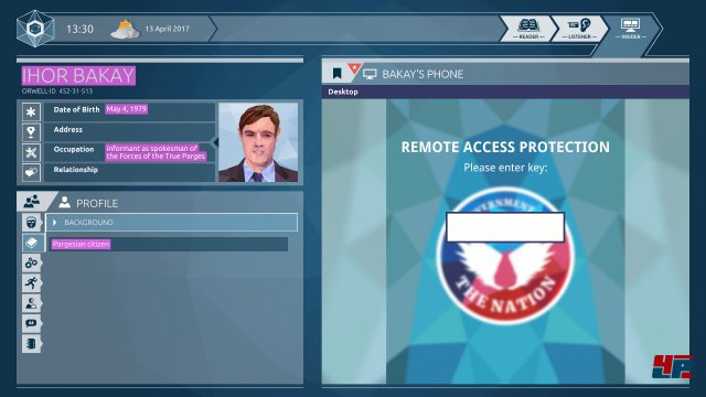 Screenshot - Orwell: Ignorance is Strength (Linux)