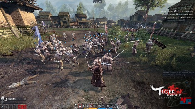 Screenshot - Tiger Knight: Empire War (PC)