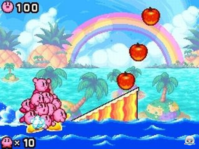 Screenshot - Kirby: Mass Attack (NDS) 2252072