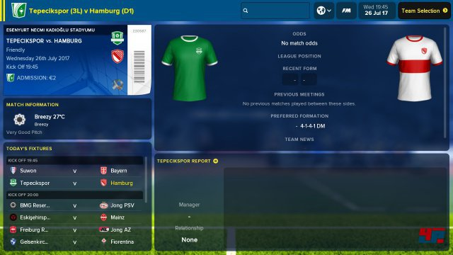 Screenshot - Football Manager Touch 2018 (Switch)