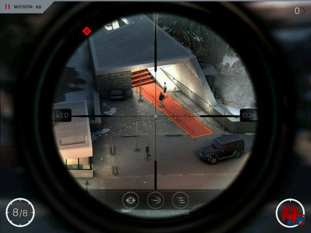 Screenshot - Hitman: Sniper (Android)