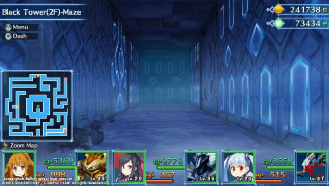 Screenshot - MeiQ: Labyrinth of Death (PS_Vita)