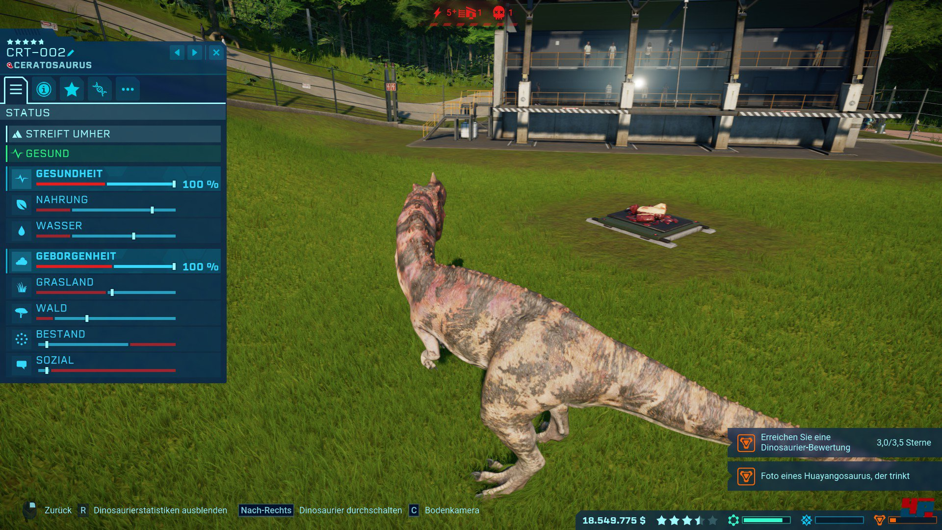 Screenshots zu Jurassic World Evolution: Alles zum Strategie-Spiel ...