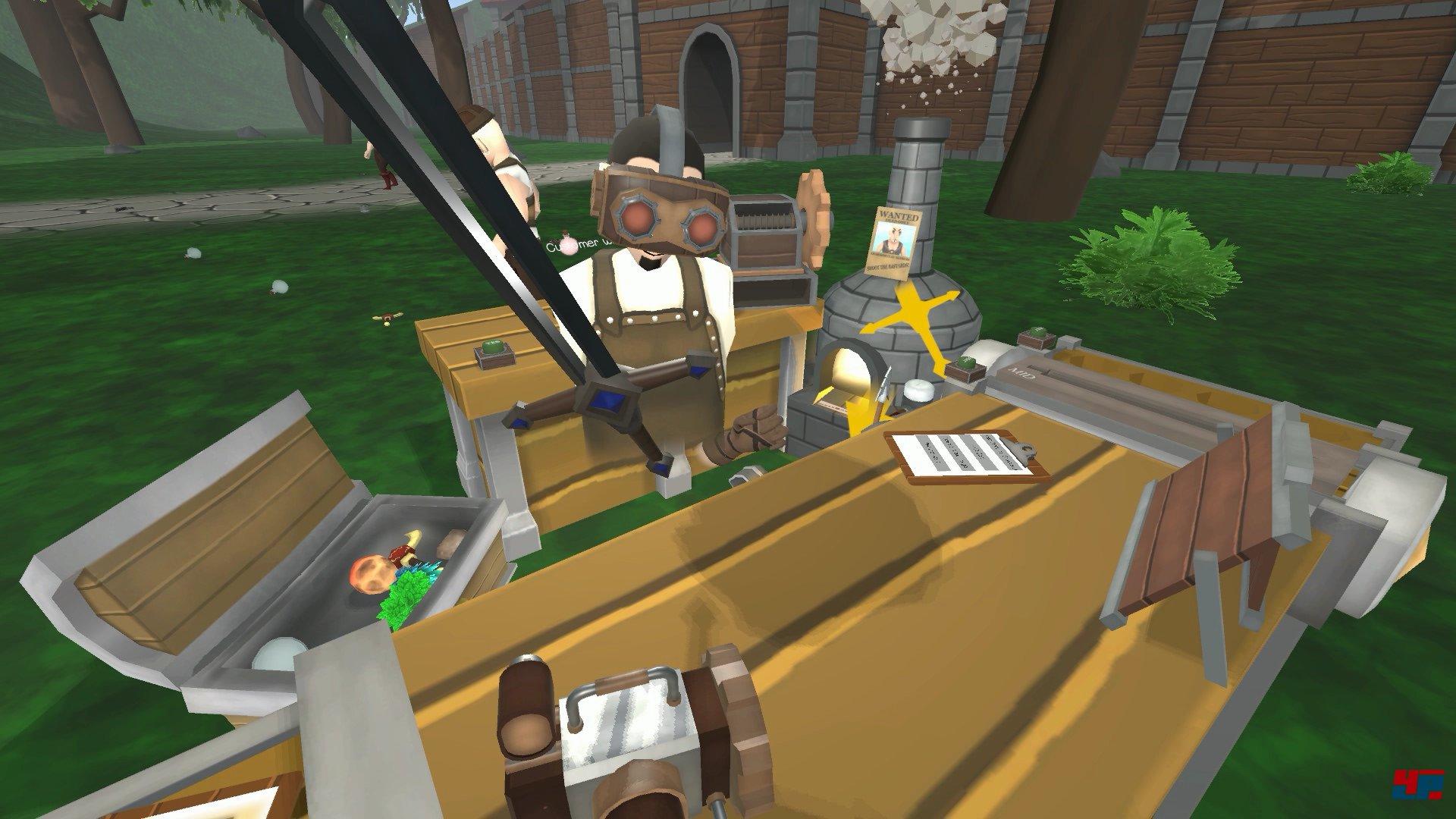 Craft Keep VR: Mit HTC Vive Tränke brauen und Waffen bauen - Service ...