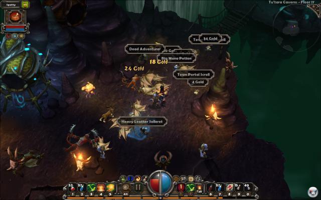 Torchlight ist der einzige nennenswerte Titel, der als Alternative zu Diablo längerfristig Erfolg hatte.