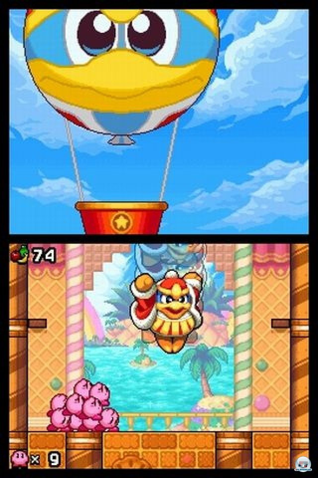 Screenshot - Kirby: Mass Attack (NDS) 2252057
