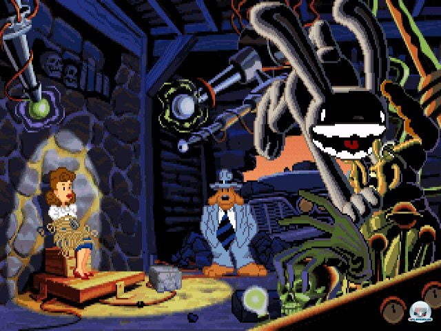 Screenshot - Sam & Max Hit the Road (PC)