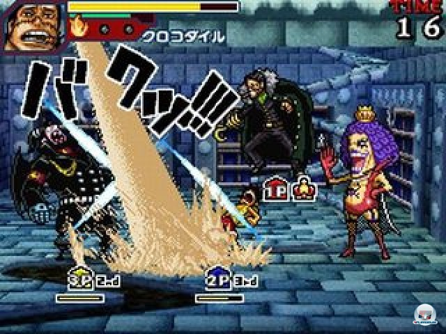 Screenshot - One Piece: Gigant Battle (NDS) 2237524