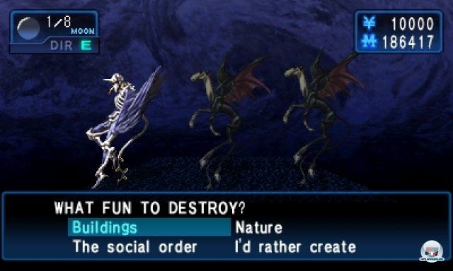 Screenshot - Shin Megami Tensei: Devil Summoner - Soul Hackers (3DS) 92460035