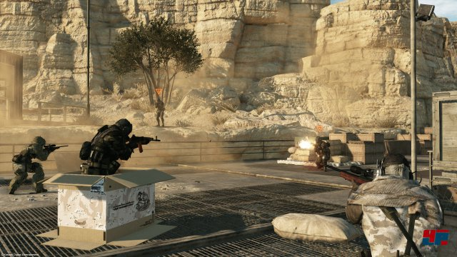 Screenshot - Metal Gear Online (360) 92515120
