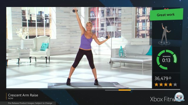 Screenshot - Xbox Fitness (XboxOne)