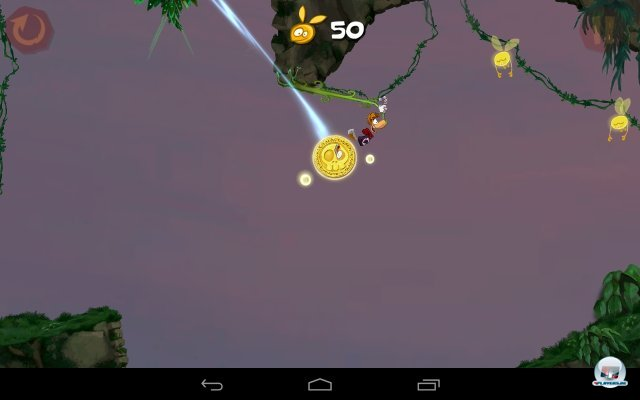 Screenshot - Rayman Jungle Run (Android)