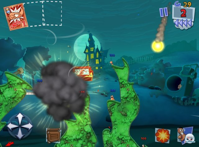 Screenshot - Worms 3 (iPad)