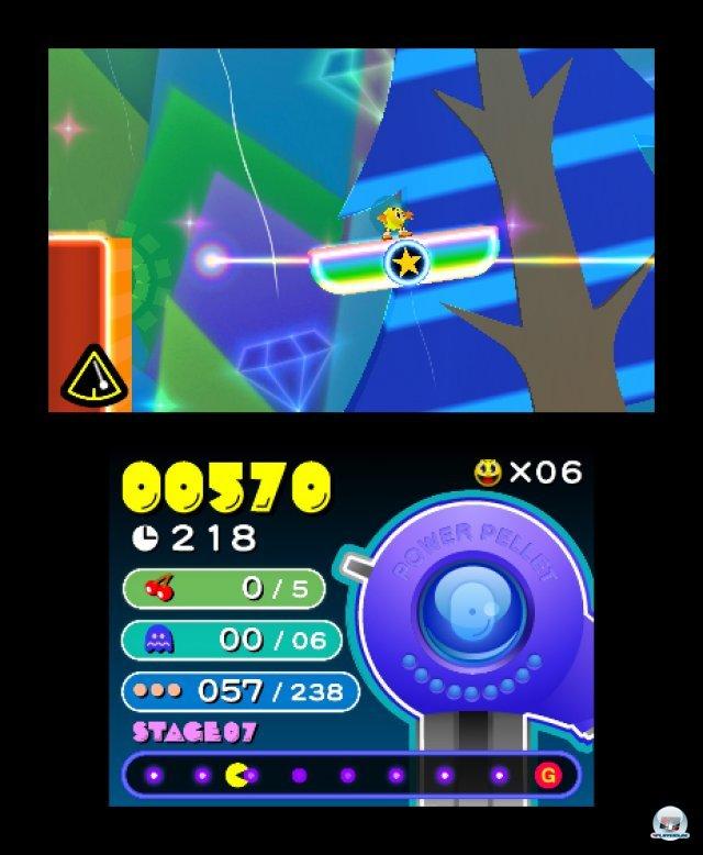 Screenshot - Pac-Man & Galaga Dimensions (3DS) 2257397