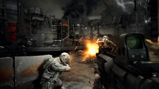 Platz 5: Killzone 2<br><br>Sony hat auf der E3 eine technisch beeindruckende Duftmarke hinterlassen: Dieses Spiel entführt in ein unheimlich düsteres, unheimlich beklemmendes Szenario, das vor allem mit seinen verblüffend lebensechten Bewegungen, einer genialen Mimik der Hauptakteure, sehr feinen Lichteffekten und vor allem einer Höhendimension punkten kann, die Gears of War in dieser Art nicht hatte. Die PlayStation 3 nimmt endlich Fahrt auf - und wir sind sehr gespannt, wie sich dieser Krieg zum Release anfühlt. 1713634