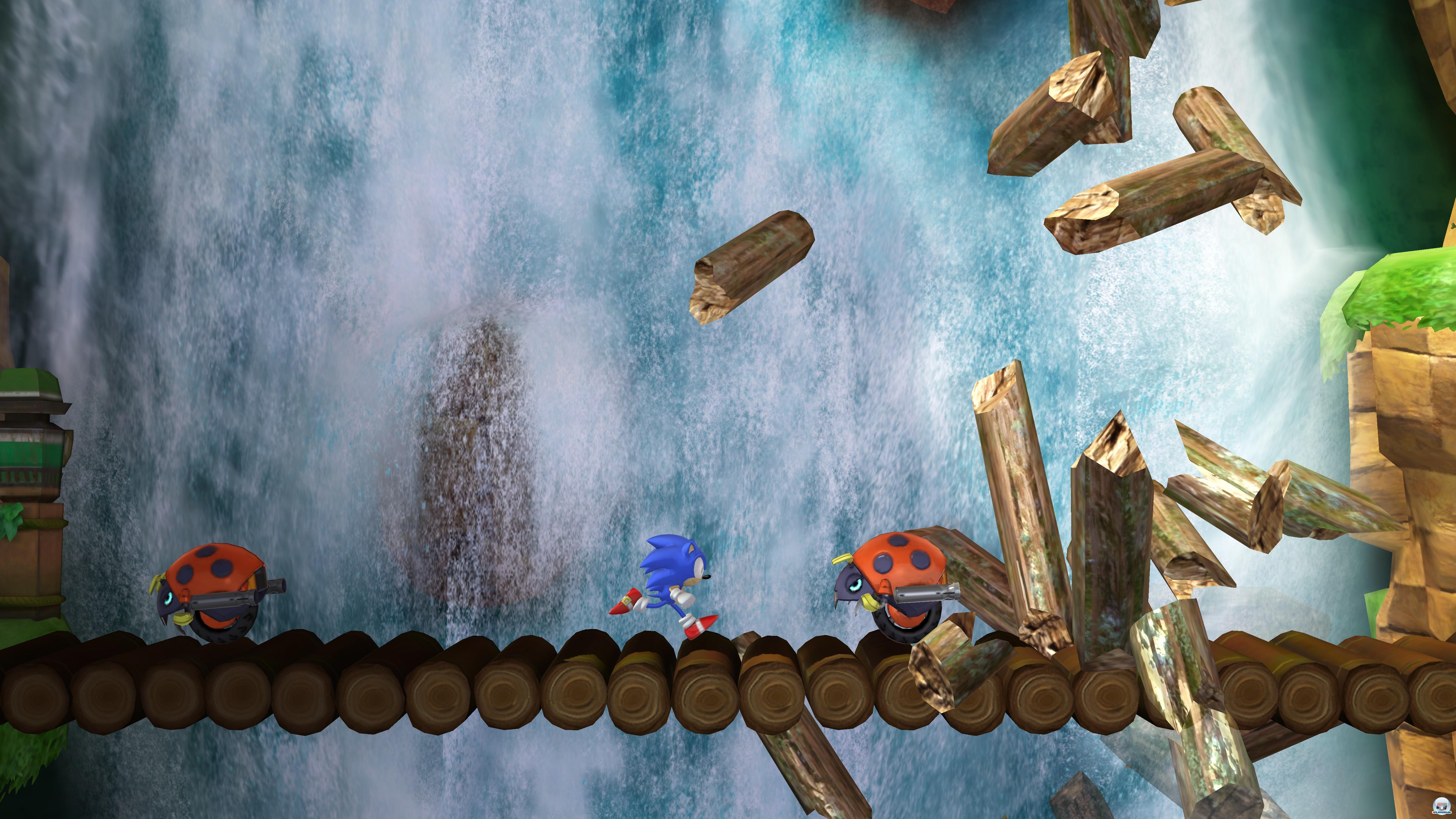 Скриншоты Sonic Generations.