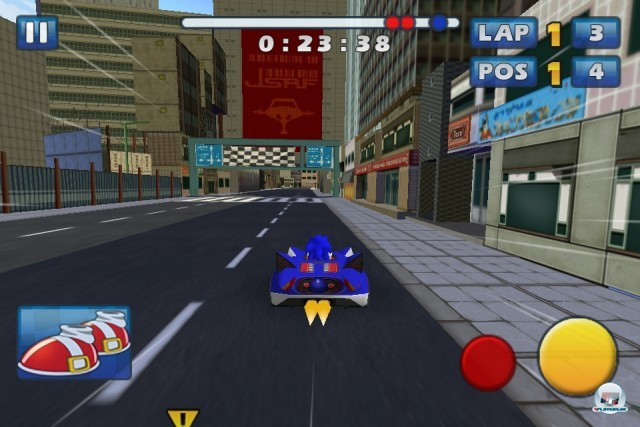 Screenshot - Sonic & Sega All-Stars Racing (iPhone) 2235188