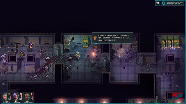 Mensch gegen Mutant: Oft kämpft man in geradlinigen Korridoren.