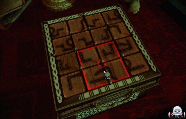 Öde: Um die Spielzeit zu strecken, haben die Entwickler Schiebepuzzles und langweilige Aufgaben wie die Reparatur eines Druckers eingebaut.