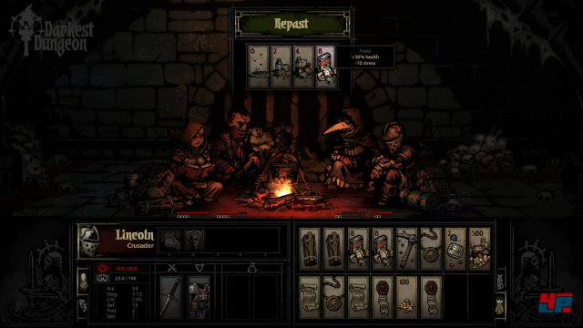 Darkest Dungeon lockt mit einem interessanten Konzept.