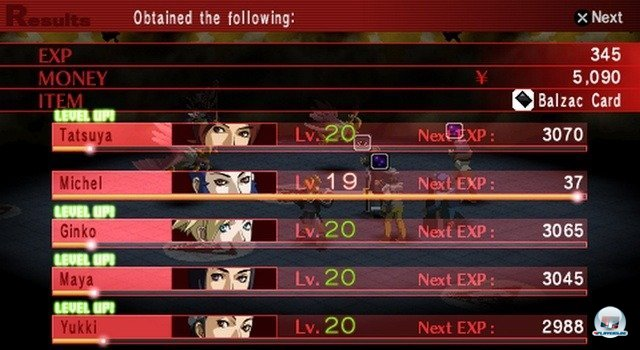 Screenshot - Shin Megami Tensei: Persona 2 - Innocent Sin (PSP) 2254512