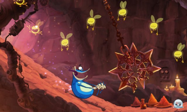 Screenshot - Rayman Origins (3DS) 2367042