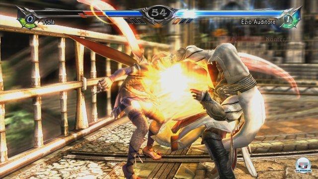 Ezio Auditore aus der Assassin's Creed-Reihe ist der Stargast von Soul Calibur 5 - und passt sehr gut in die Reihe. Allerdings kein Fall für Einsteiger.