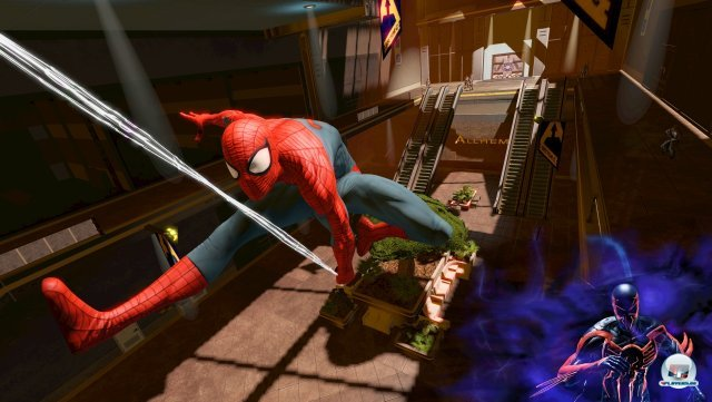 Screenshot - Spider-Man: Edge of Time (360)