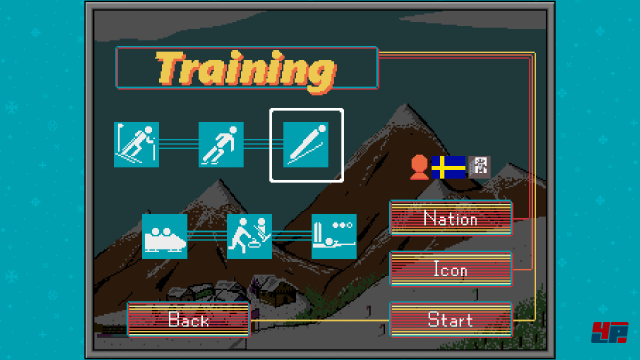 Screenshot - Retro Winter Sports 1986 (Android)