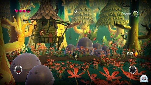Wie die Buchvorlage bietet auch das Spiel ein sehr markantes Artdesign.
