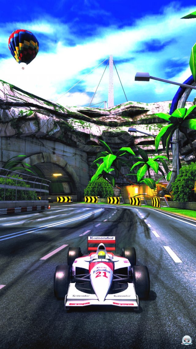 Screenshot - The 90's Arcade Racer (Android)