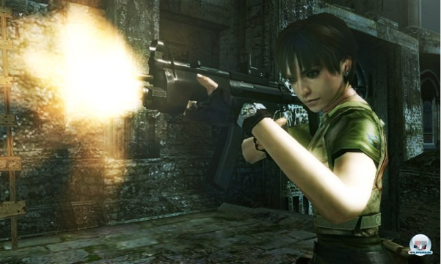 Screenshot - Resident Evil: The Mercenaries - 3D Edition (NDS) 2221689