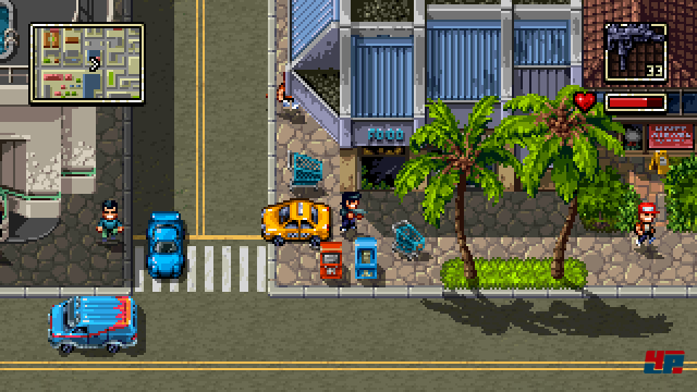 Screenshot - Shakedown Hawaii (3DS)